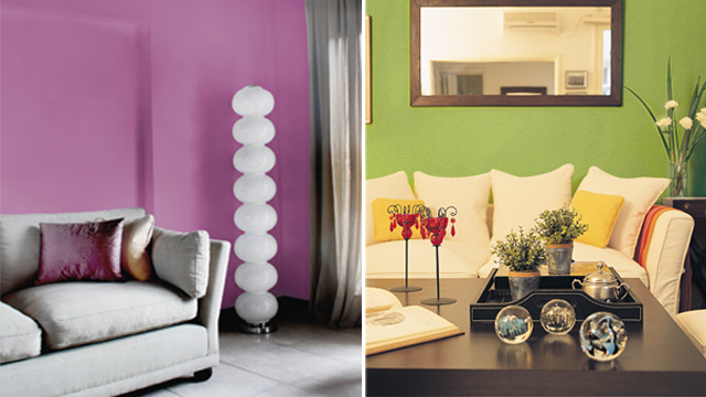 Tendencias de color martel for Decoracion para pared de living