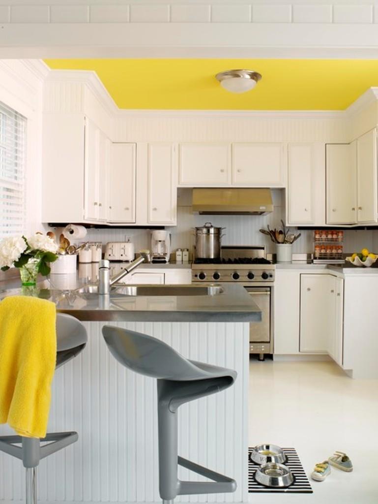 Consejos para decoraci n de techos colores martel - Pintar techo cocina ...